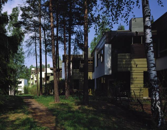 Zona residencial Suvikumpu, Espoo 1962