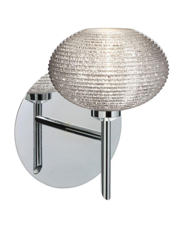 Halogen Bathroom Sconces besa lighting 1sw-5612gl lasso 1 light halogen bathroom sconce