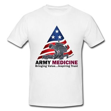 Sale Army Medicine Logo Since 1775 Short Sleeve T Shirts