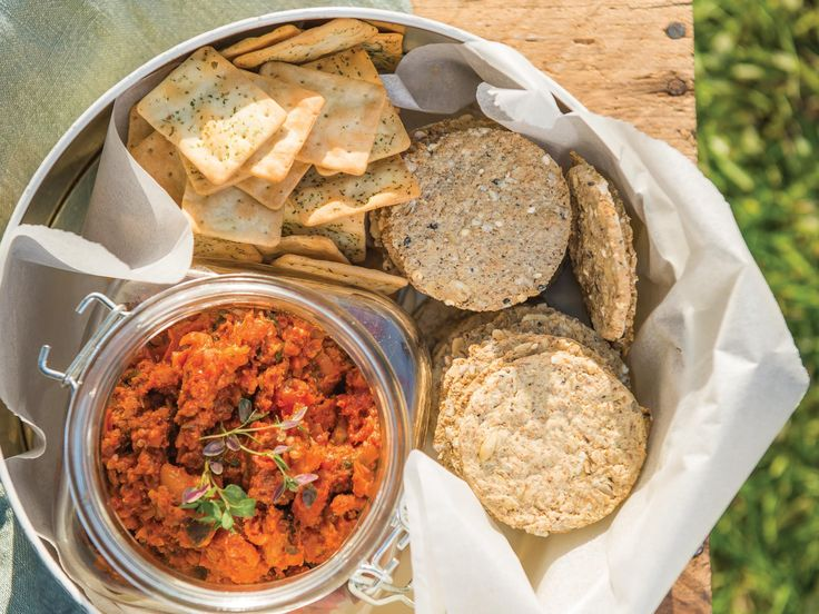 Chorizo, coriander and lime spread | Platter inspiration