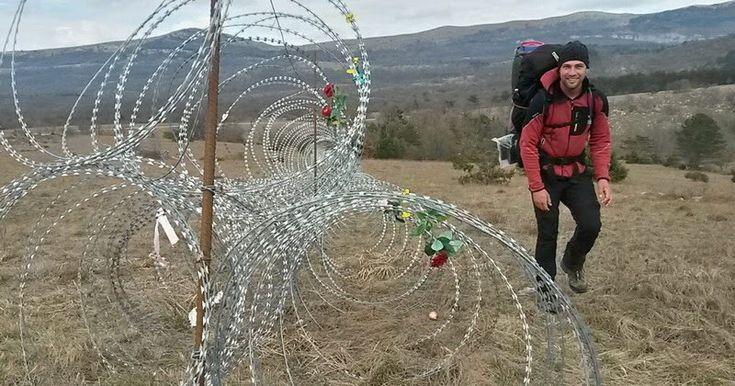 Από την Ιορδανία στην Κροατία μέσω Κομοτηνής με τα πόδια