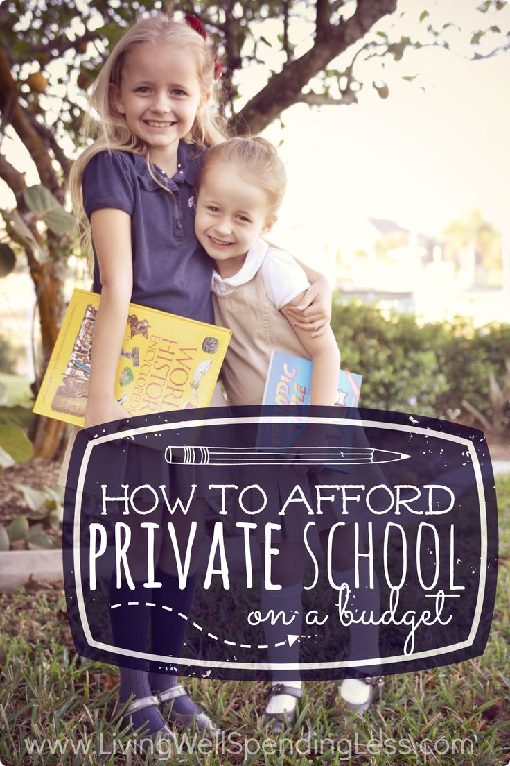 Private school might seem out of reach, but it actually can be far more affordable than you might think.  If you've been considering a change in your child's education, you will not want to miss these 7 super practical (and field-tested) ways to afford private school on a budget.