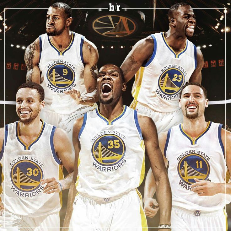 Imagine how crazy awesome this team will be with Durant