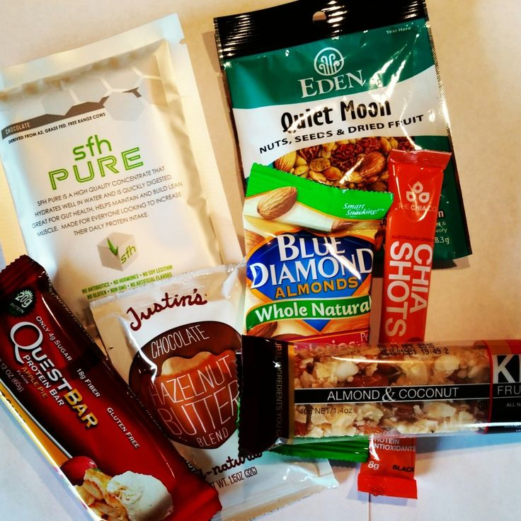 healthy travel snack
