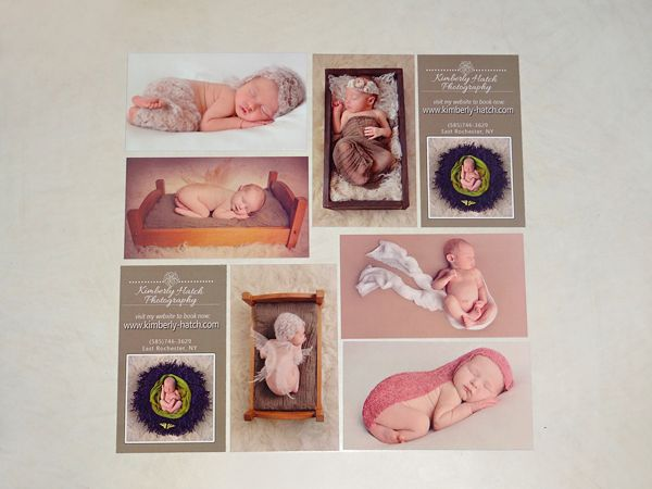 Newborn Business Cards by MOO