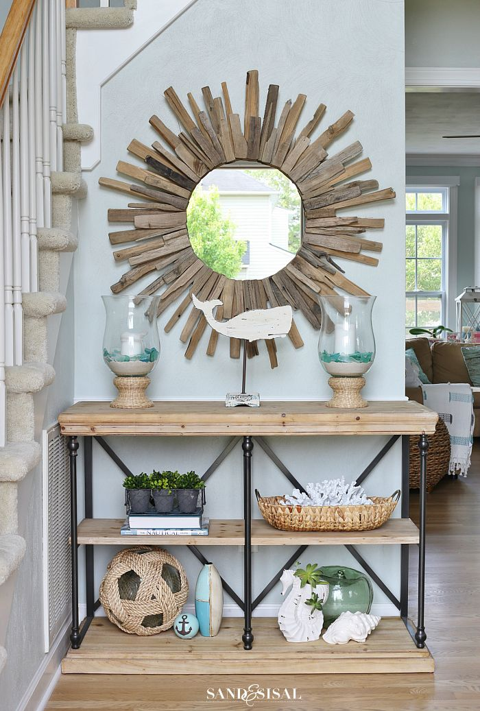 Best 25 coastal entryway ideas on pinterest coastal for Decorating house for sale