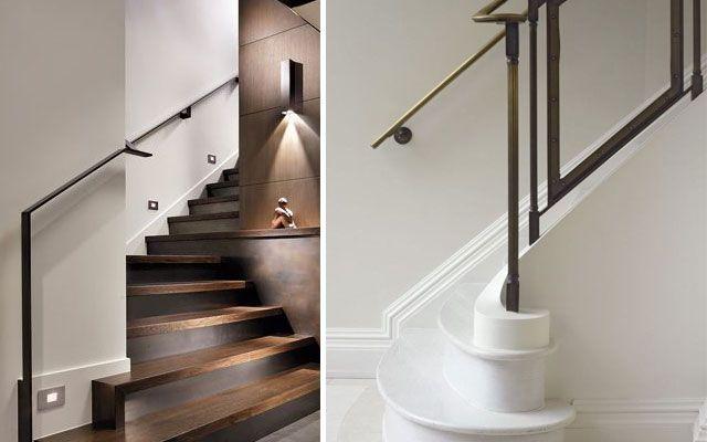 pasamanos modernos para escaleras de diseo stairs pinterest pasamanos escalera y moderno