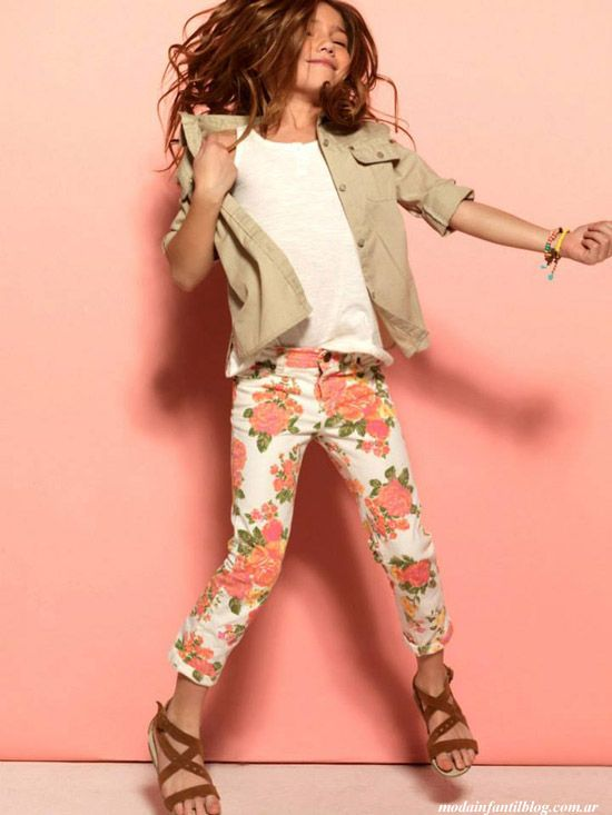 cheeky moda infantil primavera verano Floral Tween fashion