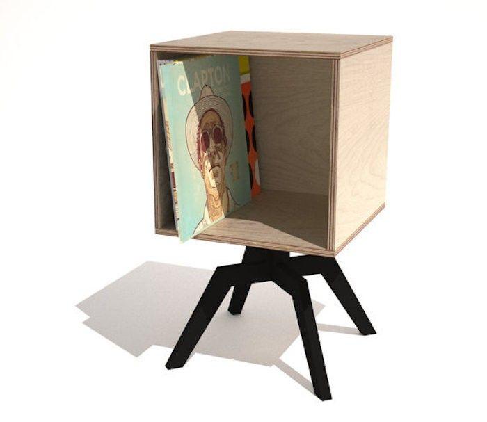 1000 id es sur le th me meuble vinyle sur pinterest vinyle meubles et rangement vinyle. Black Bedroom Furniture Sets. Home Design Ideas