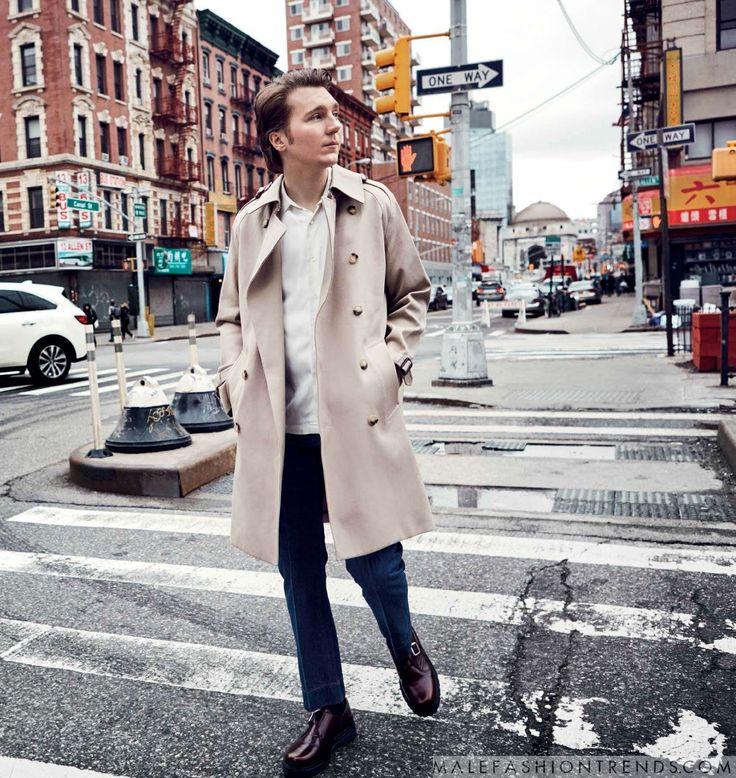 Paul Dano recorre las calles de Manhattan para Esquire Malasia