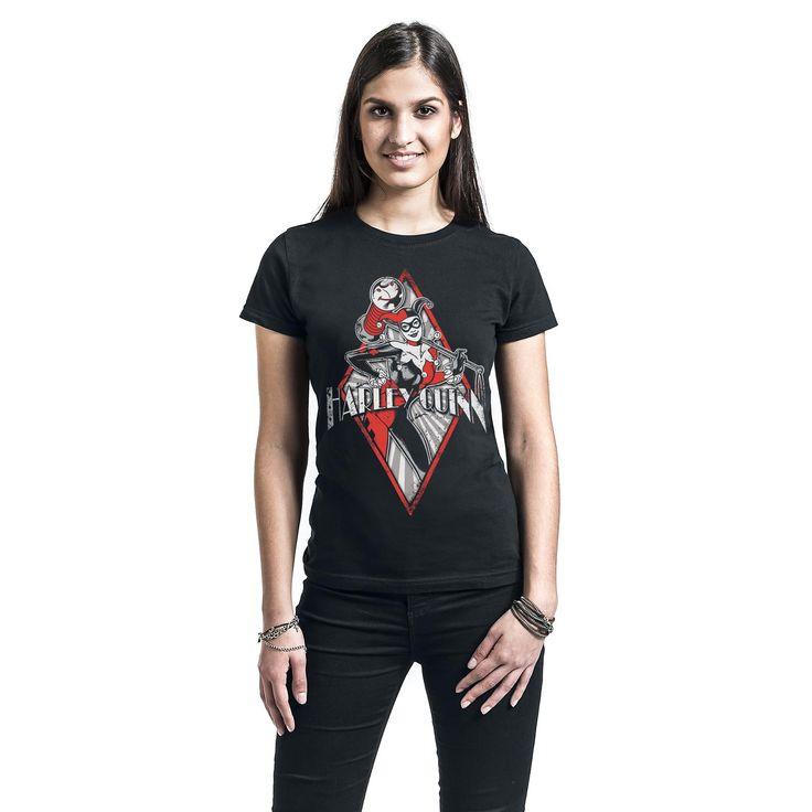 Osta Harley Quinn Diamond T-paita & muut Fanituotteet T-paidat EMP.fi-verkkokaupasta - Nopea toimitus, ilmainen palautus!