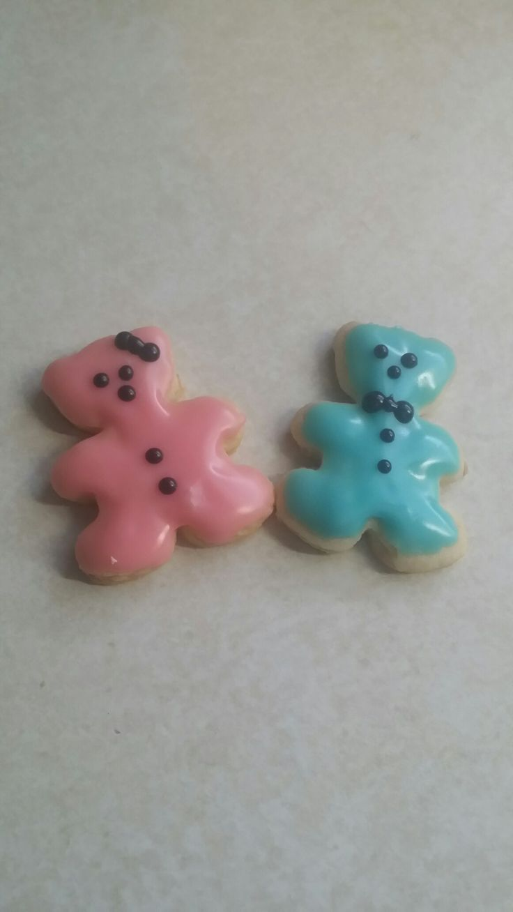 Gender Reveal Cookie Treats