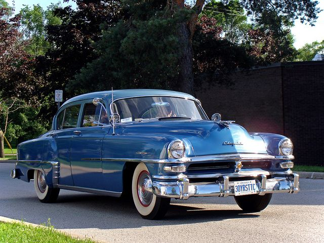 1953 Chrysler New Yorker Maintenance/restoration of old/vintage vehicles: the material for new cogs/casters/gears/pads could be cast polyamide which I (Cast polyamide) can produce. My contact: tatjana.alic@windowslive.com