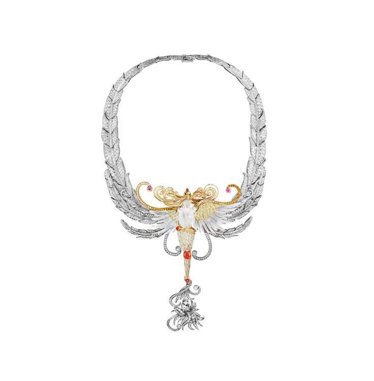 Collier Lalique - Reflets Palais de Tokyo
