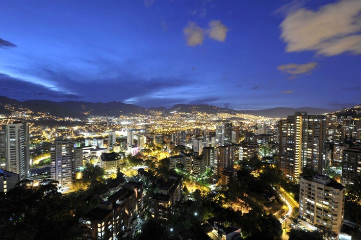 Medellin, Colombia. I need to go back!