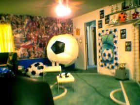 9 best soccer bedroom images on pinterest