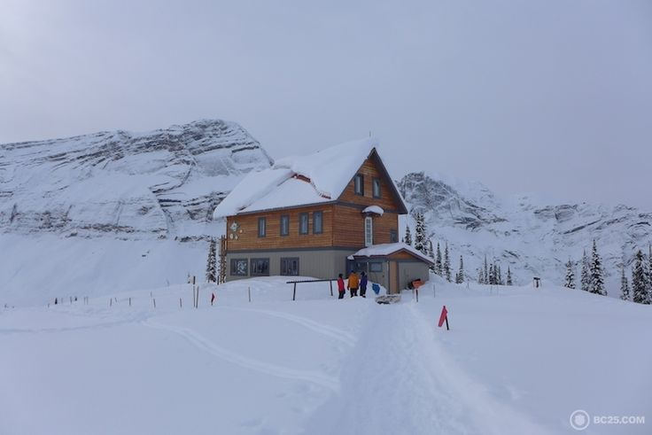 The Campbell Icefield Chalet.