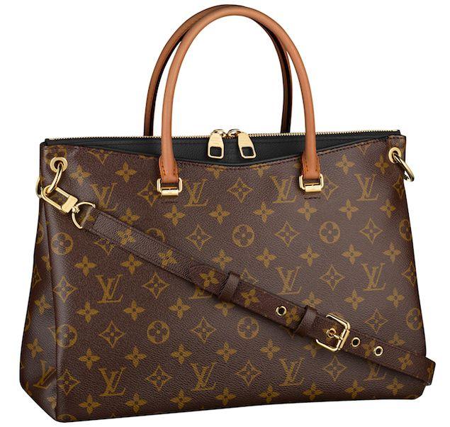 Louis Vuitton Pallas bag in New Classic Black Color