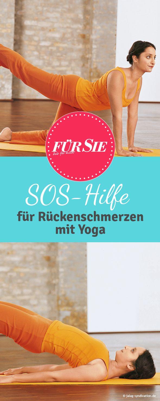 Es zieht im Kreuz? Dann ab auf die Matte und ein paar Yoga-Übungen machen. Yogalehrerin Anna Trökes erklärt, was dem Rücken guttut - und was ihn beastet.