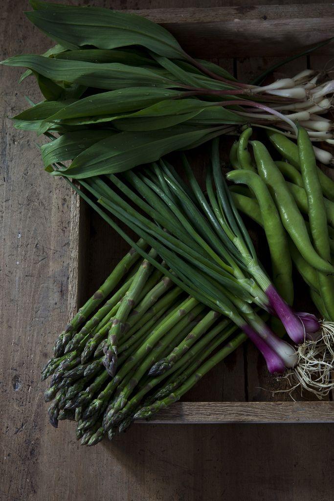 Verduras: Fruit Salad, Edible Gardens, Green Drinks, Drinks Recipes, Vintage Houses, Asparagus, Food Photography, Veggie, Natural Food