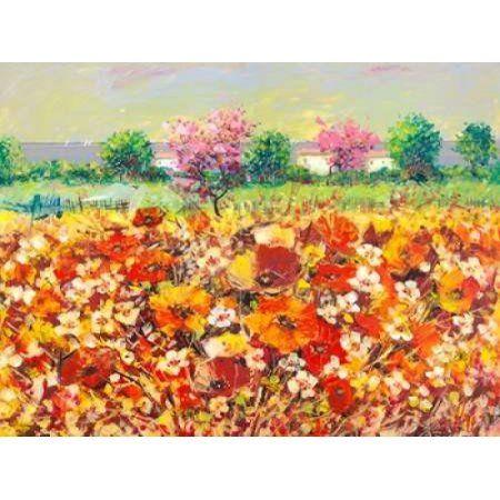 Posterazzi Colori di primavera Canvas Art - Luigi Florio (22 x 28)