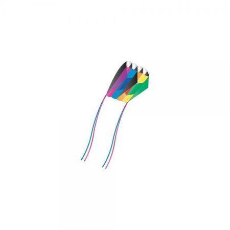 X-Kites Skyfoil Frameless Parafoil Kite: Rainbow