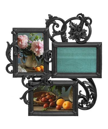 Take a look at this Black Decoro Three-Photo Frame on zulily today!