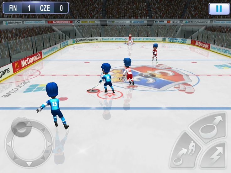 Choose one of 18 country teams from the get-go and unlock more teams to showcase your arsenal of hockey skills on a city level.