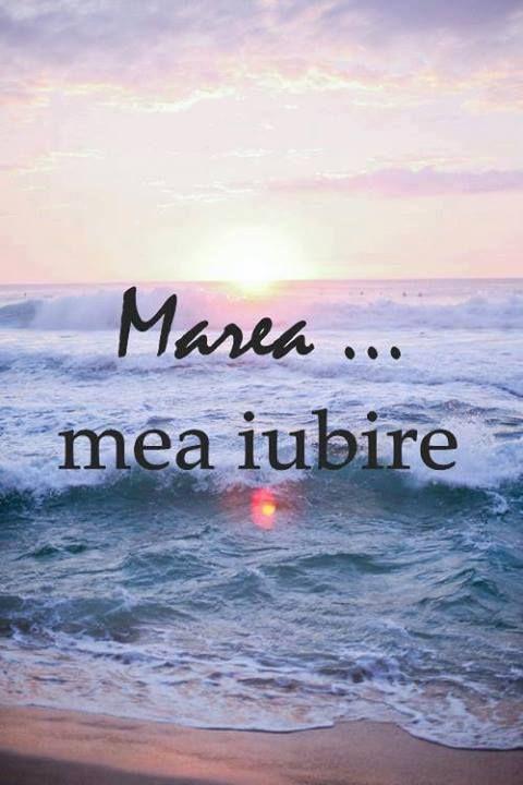 Marea...mea iubire.