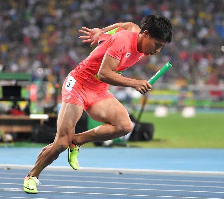 銀獲得の日本男子リレー「緑のバトン」日本陸連へ #陸上 #リオ五輪