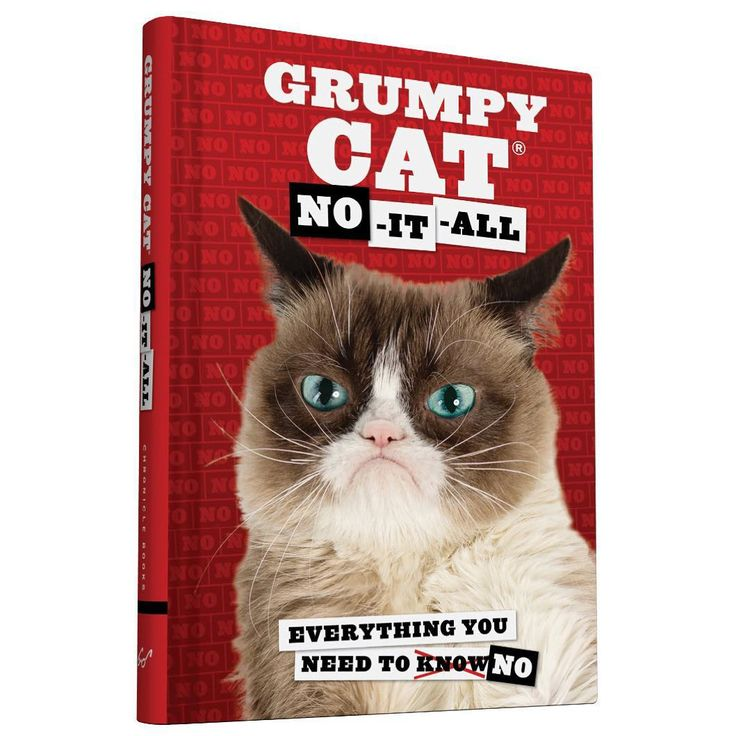 """Grumpy Cat on Instagram: """"You know what they say... The third book is usually the worst. http://cbks.co/QrnN6"""""""