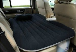 Heavy Duty Inflatable Mattress for Car or SUV backseat. Maximum weight of 800 lbs. Specifically designed air mattress for the back seat of SUV and other vehicles. Micro-fluffy feather feeling surface.