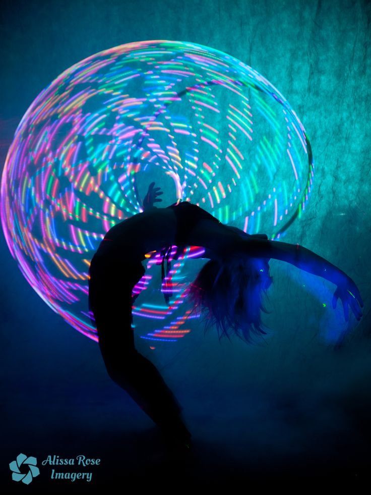 LED Hooping with Leany these are really cool and they work very good