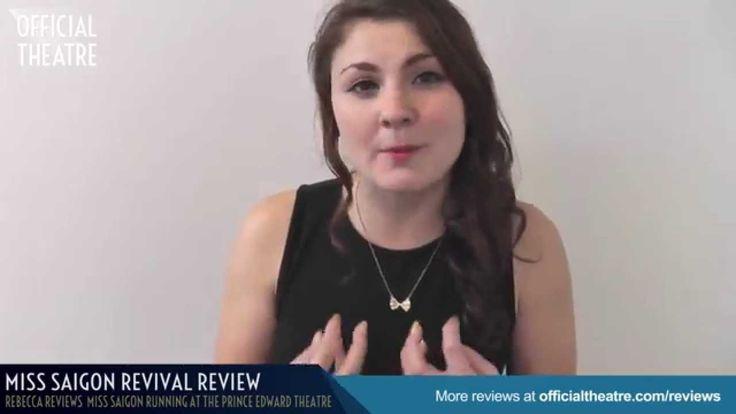 Miss Saigon Revival Review  ★★★★★ Prince Edward Theatre
