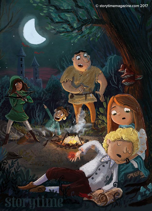 Moscone the Fool and his very talented friends in Storytime Issue 32. (Art by Tomasz Plaskowski) Subscribe today and never miss a story at STORYTIMEMAGAZINE.COM