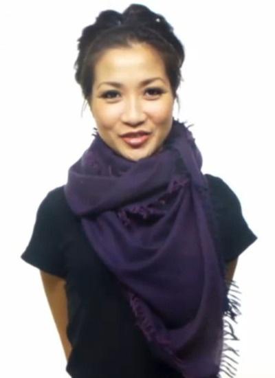 25 ways to tie scarf