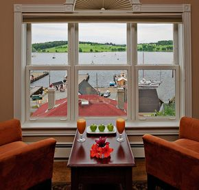 Lunenburg Arms, NS... Stayed here on our wedding night <3