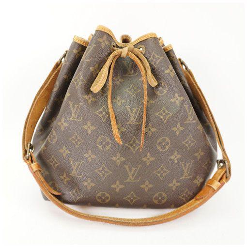 Louis Vuittonlv Monogram Petit Noe M40818 Shoulder Bag Used Japan Fashion Clothing Shoes Unisex Accessories Monogram Handbag Woman Bags Handbags