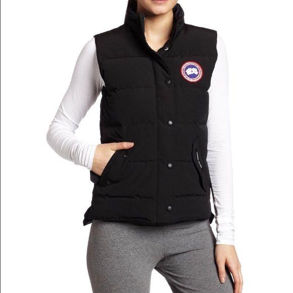 Canada Goose Vest!!! Canada Goose Black Vest Canada Goose Jackets & Coats Vests