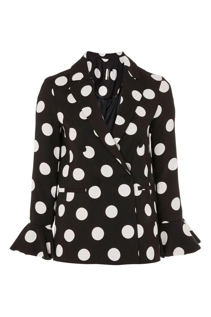 Spot Frill Jacket