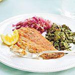 Sizzling Flounder Recipe | MyRecipes.com