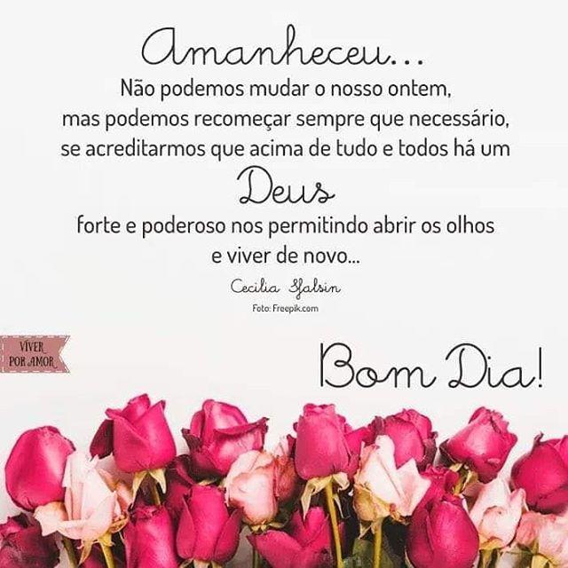 Bom Dia Bomdia Deusnocomando Pinterest Blogsnc
