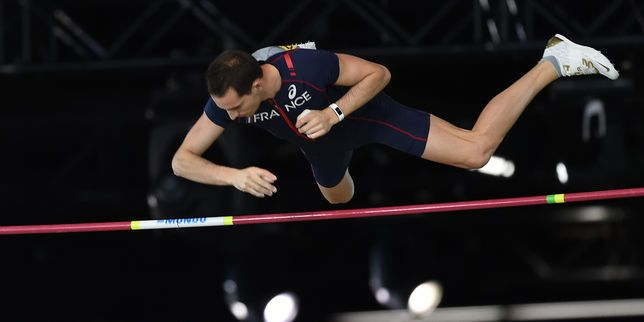 Renaud Lavillenie champion du monde de saut à la perche en salle
