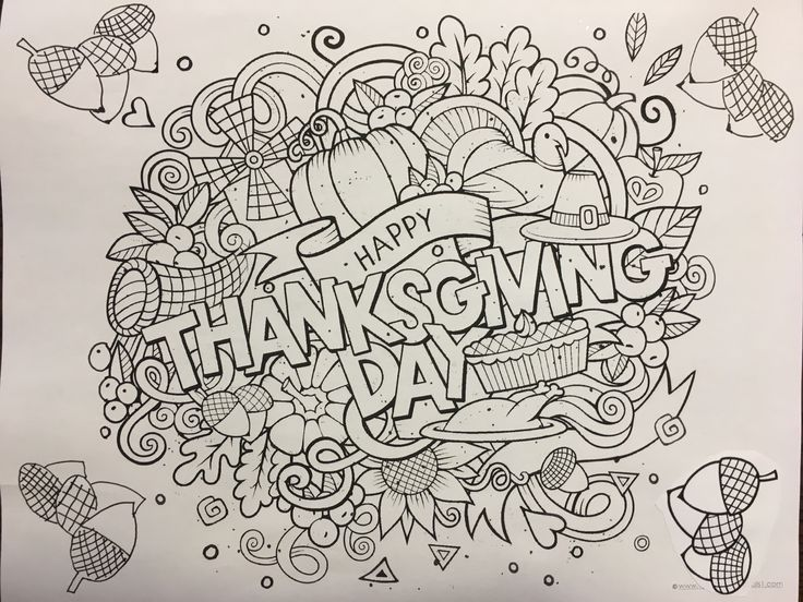 free printable thanksgiving day printable printables for families spending thanksgiving day weekend together free coloring pages for all ages easy - Free Coloring Books By Mail