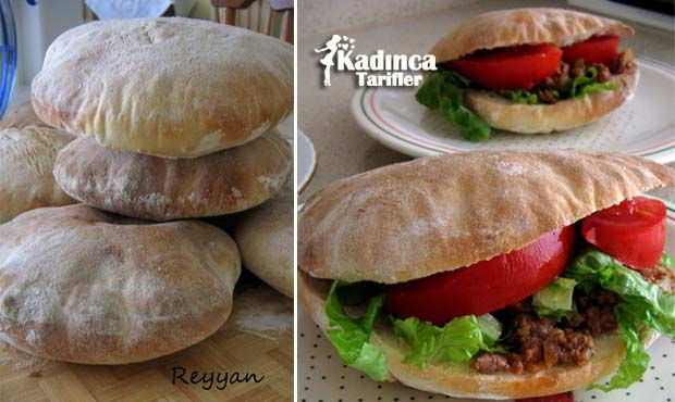 Pita Ekmeği Tarifi | Kadınca Tarifler | Kolay ve Nefis Yemek Tarifleri Sitesi - Oktay Usta
