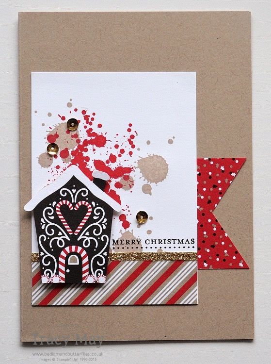 Candy Cane Lane DSP by Stampin' Up! Tracy May #CCMC433