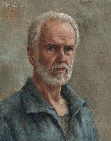 Marius van Dokkum (Dutch, born 1957) Self-portrait