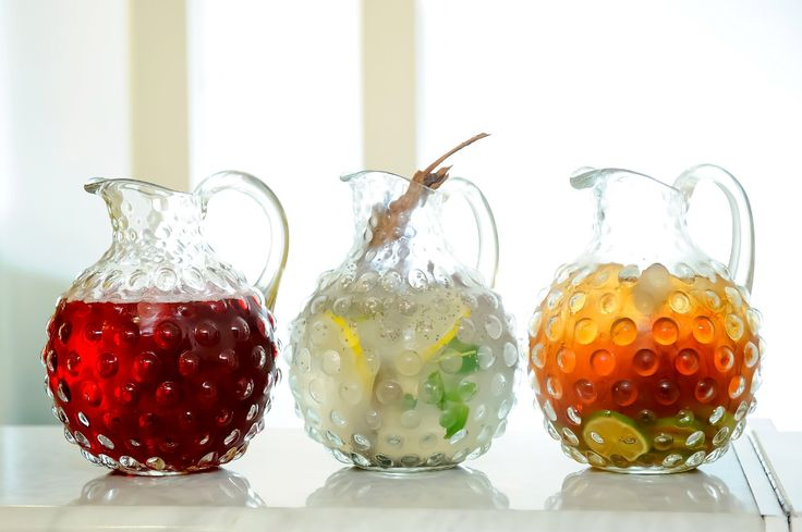 Pick a pitcher, any pitcher at Hyatt Regency Mexico City.