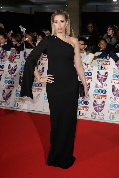 Stacey Solomon attends the Pride Of Britain Awards at Grosvenor House, on October 30, 2017 in London, England.