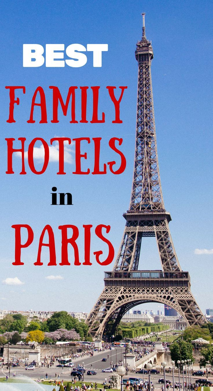 Dreaming about Paris with kids? Here's our list of the best family hotels in Paris as well as the best apartments and other accommodation options. http://www.wheressharon.com/best-family-accommodation/best-family-hotels-in-paris/
